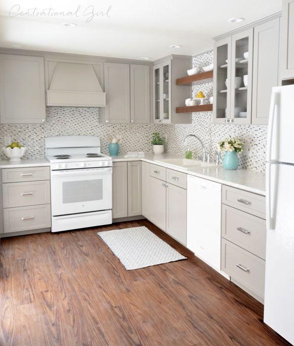 Gray + White Kitchen Remodel