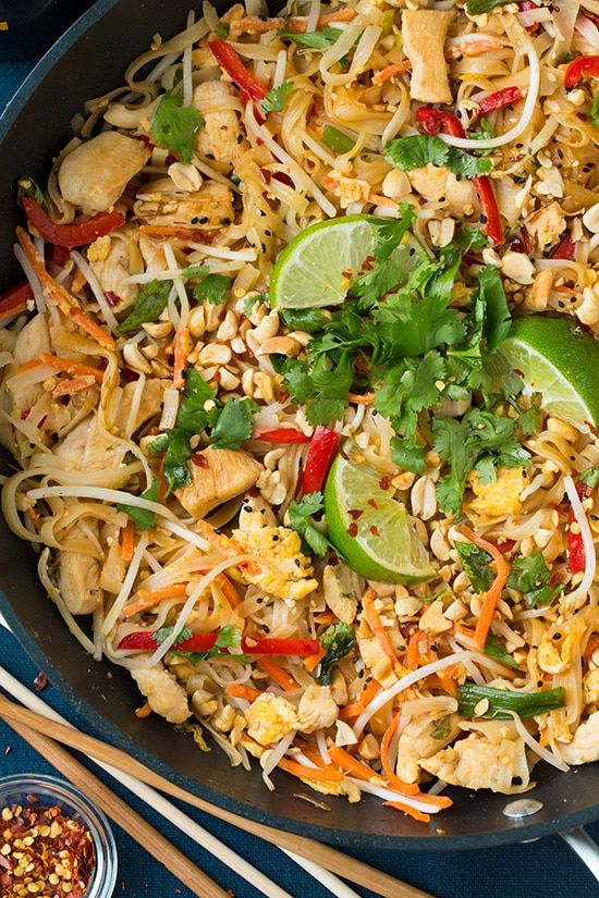 Chicken Pad Thai | Cooking Classy | Bloglovin'