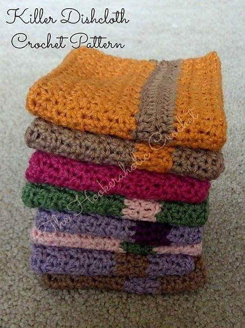 22 top crochet patterns for the kitchen and bathroom crochet crochet dishcloth free pattern on ravelry from the hookeraholic crochet dt1010fo