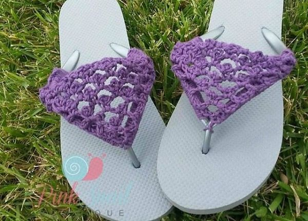 4c911b251 I spotted this one in a roundup of ten free crochet flip flop patterns from  ...