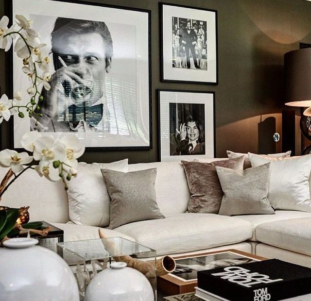 Glamorous Living Room Designs That Wows: 9 Glam Ideas For An Elegant Living Room
