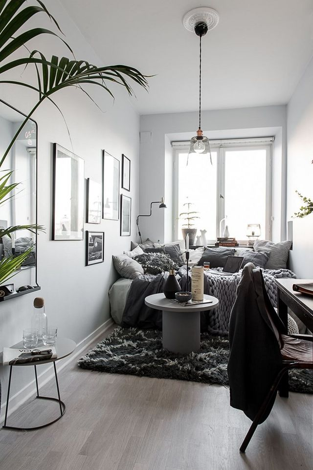 A teeny tiny dreamy studio apartment daily dream decor for Tiny studio apartment