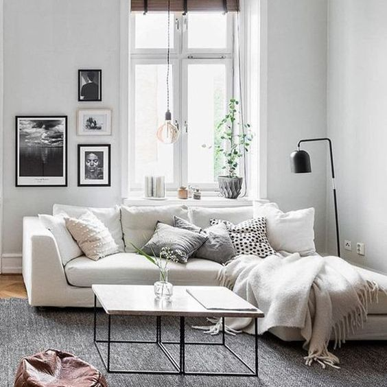 Roommate Apartments: 10 Dreamy Ways To Style A Sectional Sofa