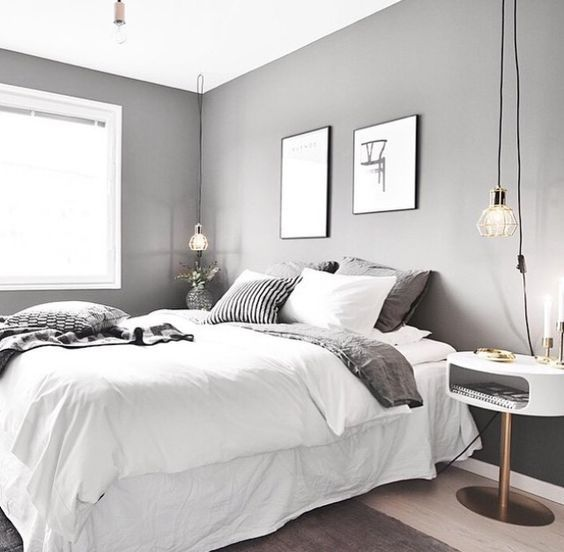 7 Splendid Grey Bedrooms That Will Make You Dream About