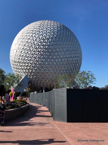 91b251475afa4 Epcot Entrance Transformation Update: Half of the Leave A Legacy ...