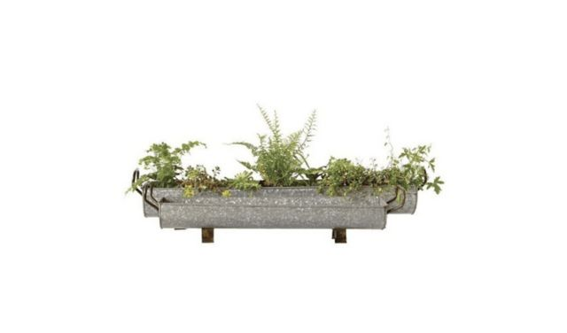 6b4ff9a6bb2 10 Easy Pieces  Galvanized Trough Planters