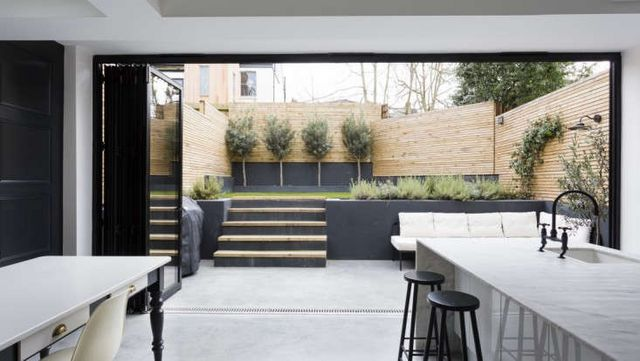 Landscaping 10 classic layouts for townhouse gardens for Garden room london zoo