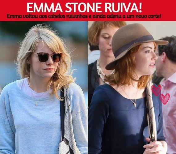 8ce7b11891838 Emma ruiva de novo!   Garotas Estúpidas   Bloglovin