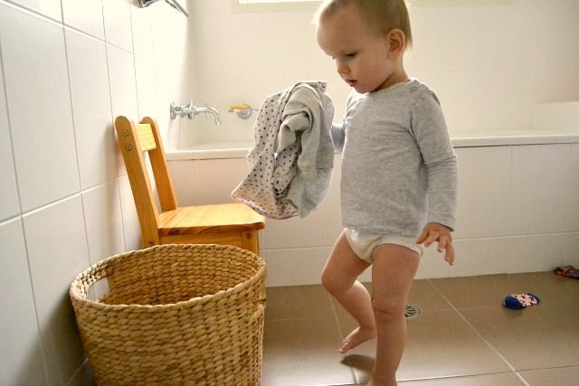 Put Away Your Clothes ~ What can i do with my one year old part months