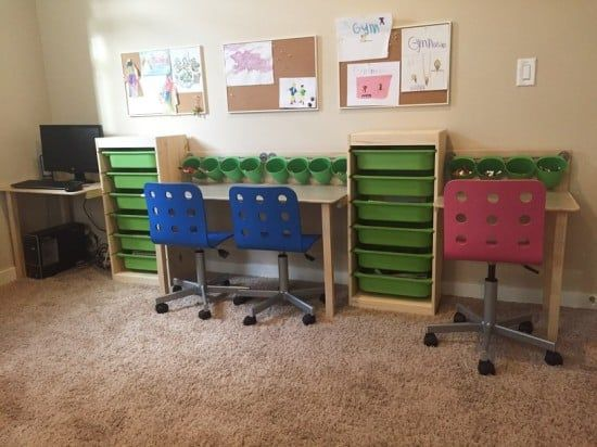 Trofast Kid Desk And Workstation Ikea Hackers Bloglovin