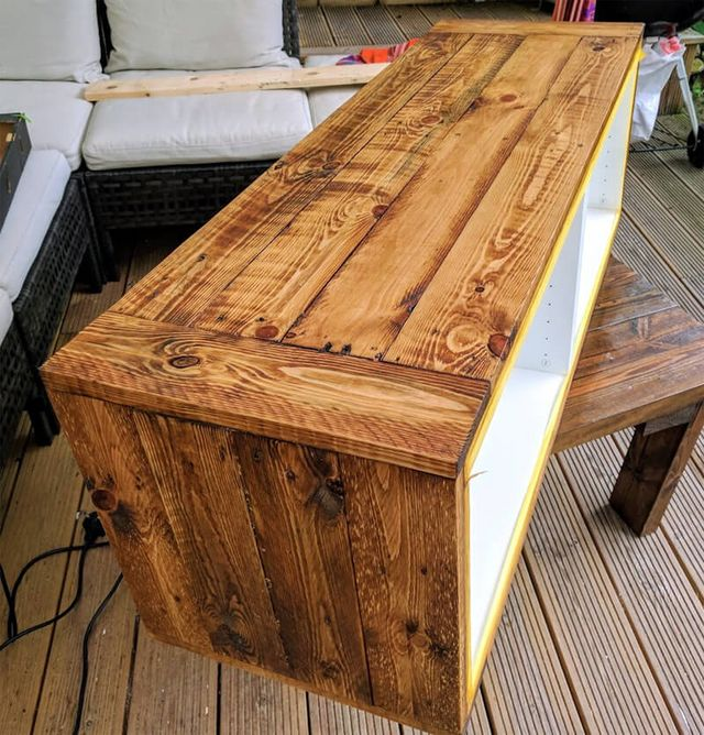 Oak Arbor Grille Pa: Got BESTÅ Covered: A Record Player Stand
