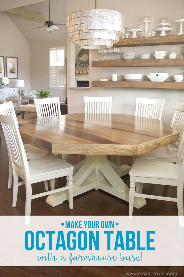 to enlarge a dining table