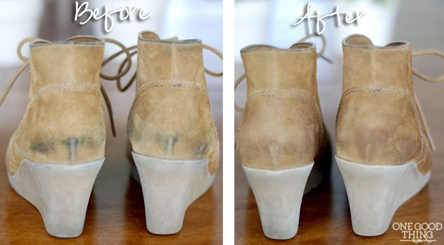 Remove Alcohol From Suede Shoe