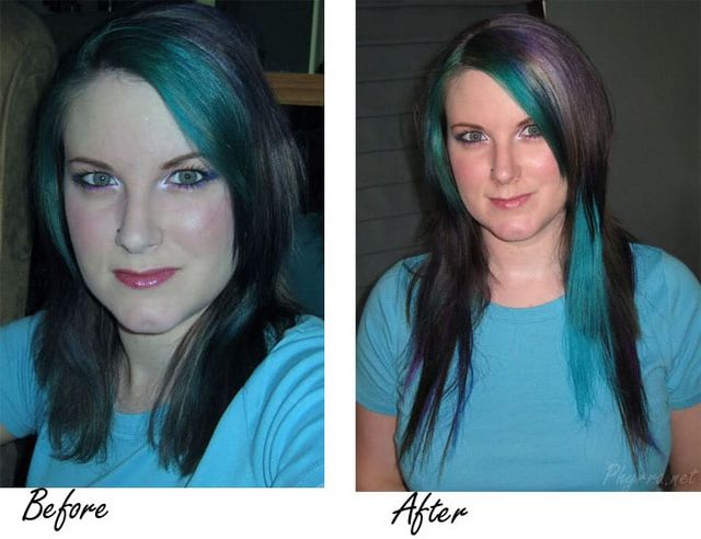 Diy how to dye hair extensions phyrra bloglovin i dyed these extensions and my friend lauren glued them in see more here 2009 pmusecretfo Gallery