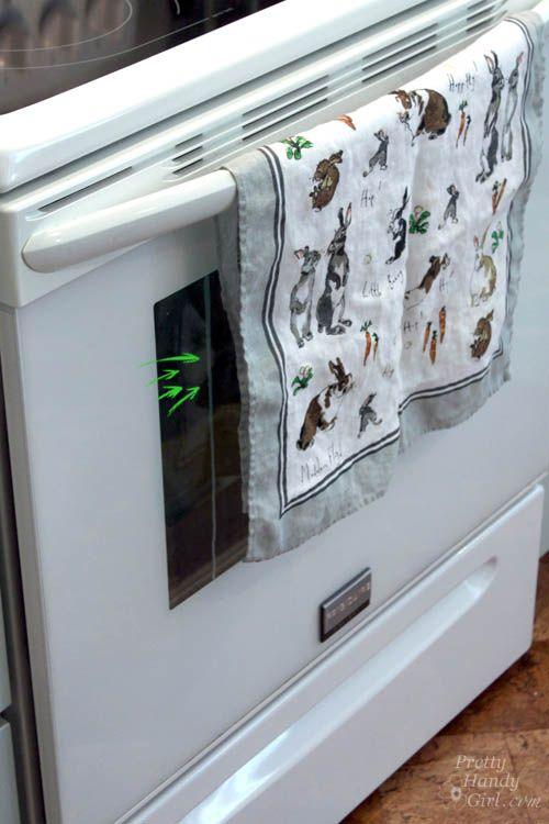 How To Clean Inside Your Oven Door Pretty Handy Girl Bloglovin