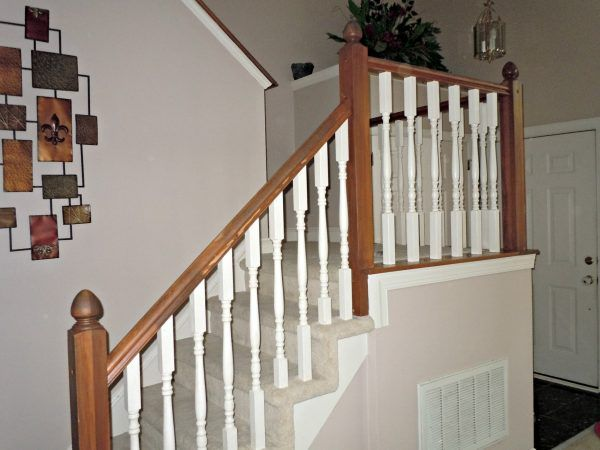 wood stair banisters and - photo #8