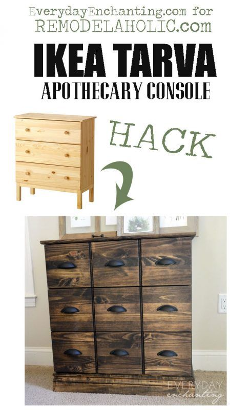 Nina From Everyday Enchanting Here To Show You How I Updated An Ikea Tarva Dresser And Transformed It Into A Gorgeous Inexpensive Knock Off Of The