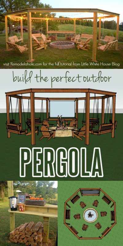 DIY Pergola Tutorial: How to Build Your Own Backyard Shade ...