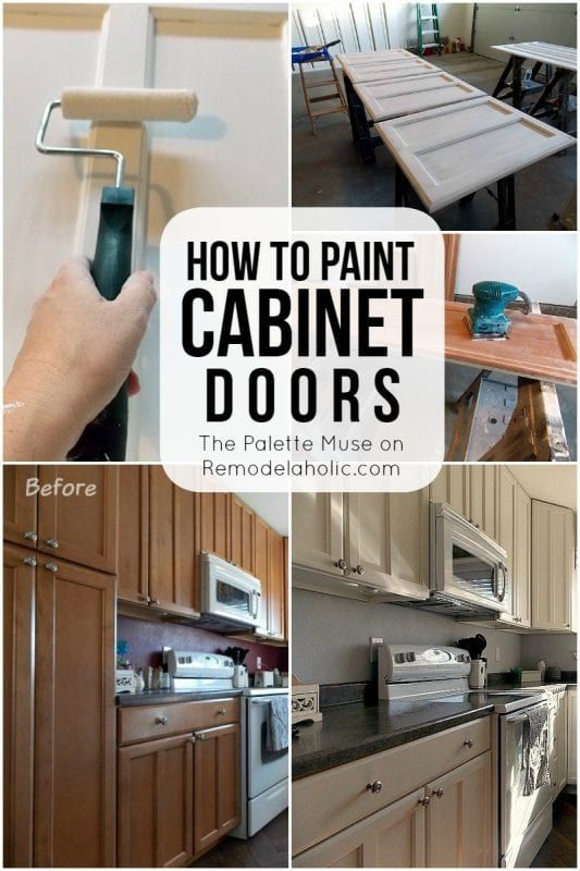 How To Paint Cabinet Doors Remodelaholic Bloglovin