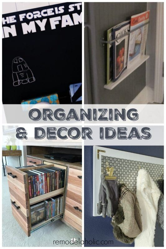 Great Organizing And Decor Projects January Link Party