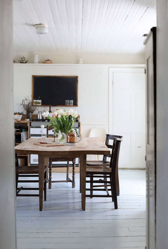 Steal this look a hudson valley diy kitchen by a stealth design above ehrlichs commissioned utilitarian table in the kitchen photograph by justine hand from house call at home in the hudson valley with designer solutioingenieria Choice Image