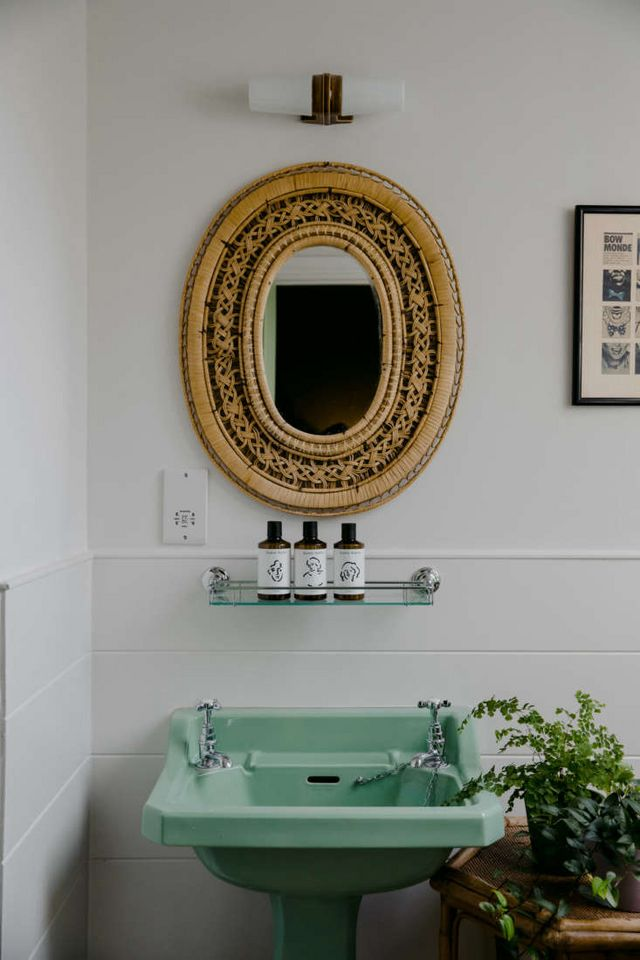 Above The Bath On Top Floor Of Rose Has White Painted Wood Paneling And Square Tile For More See Our Post Remodeling 101