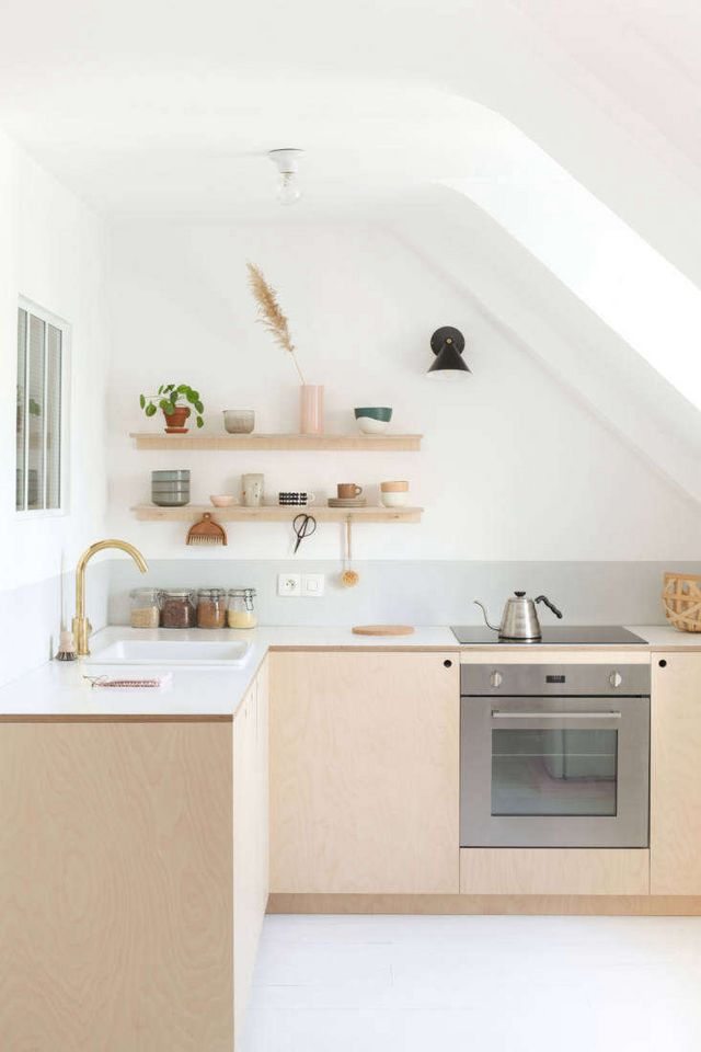 Kitchen Of The Week Two Young Paris Architects Overhaul