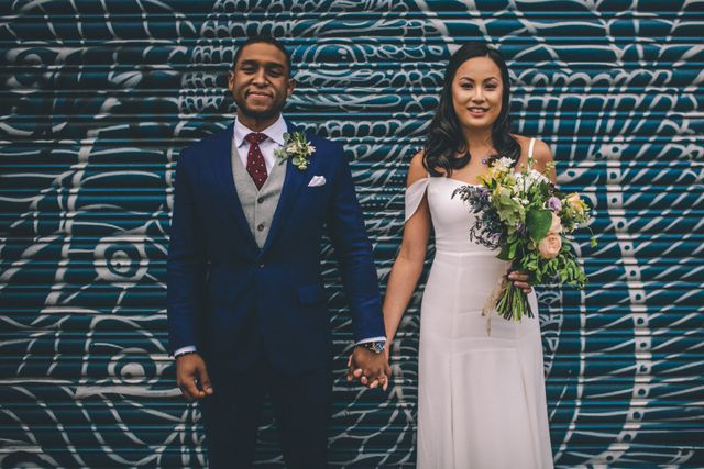 d9832867e9 Spreading their wedding across three amazing London venues with the help of  wedding planner Revelry ...