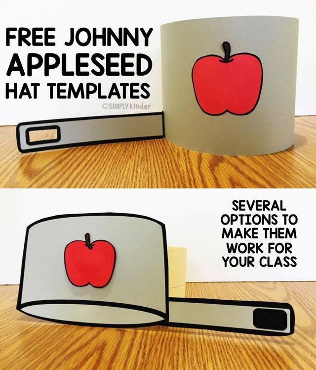 Free Johnny Appleseed Hat More Simply Kinder Bloglovin