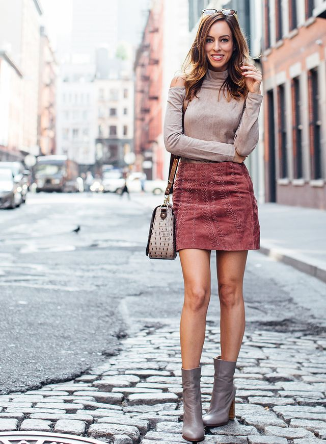 7cd1e67db0c1 Bringing the Mini Skirt Trend Into Fall | Sydne Style | Bloglovin'