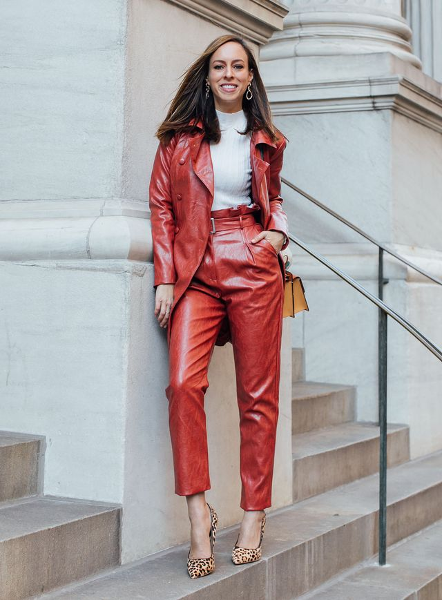 Colored Leather Pants: 2 Ways to Wear | Sydne Style | Bloglovin'