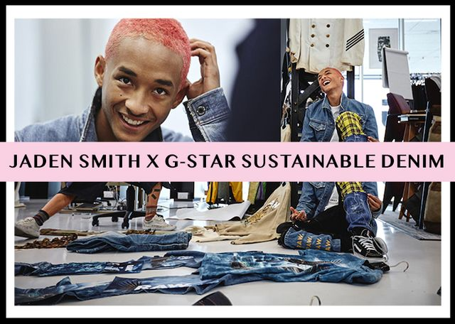 ac684485 Jaden Smith Teams Up With G-Star Raw On Sustainable Denim Line ...