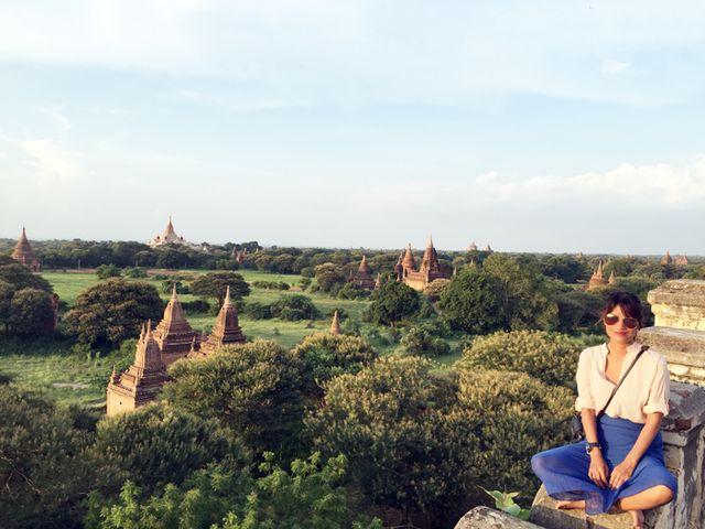 Asia Trip 2015, Myanmar: Last Sunset in Bagan + Bus to