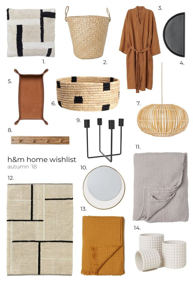 Everything You Need From Hm Home This Aw Burkatron Bloglovin