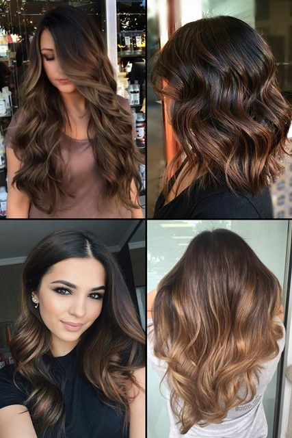 Top 15 Chocolate Brown Hair With Highlights Hairstyles
