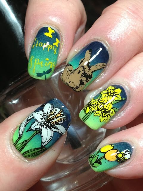 40 Great Nail Art Ideas Does Spring! | Canadian Nail Fanatic ...