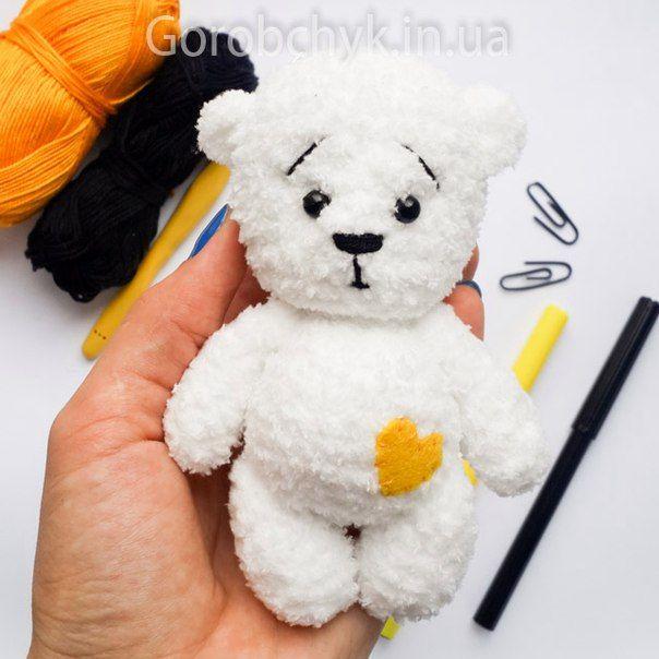 Bloglovin Amigurumi : Amigurumi White Bear-Free Pattern Amigurumi Free ...