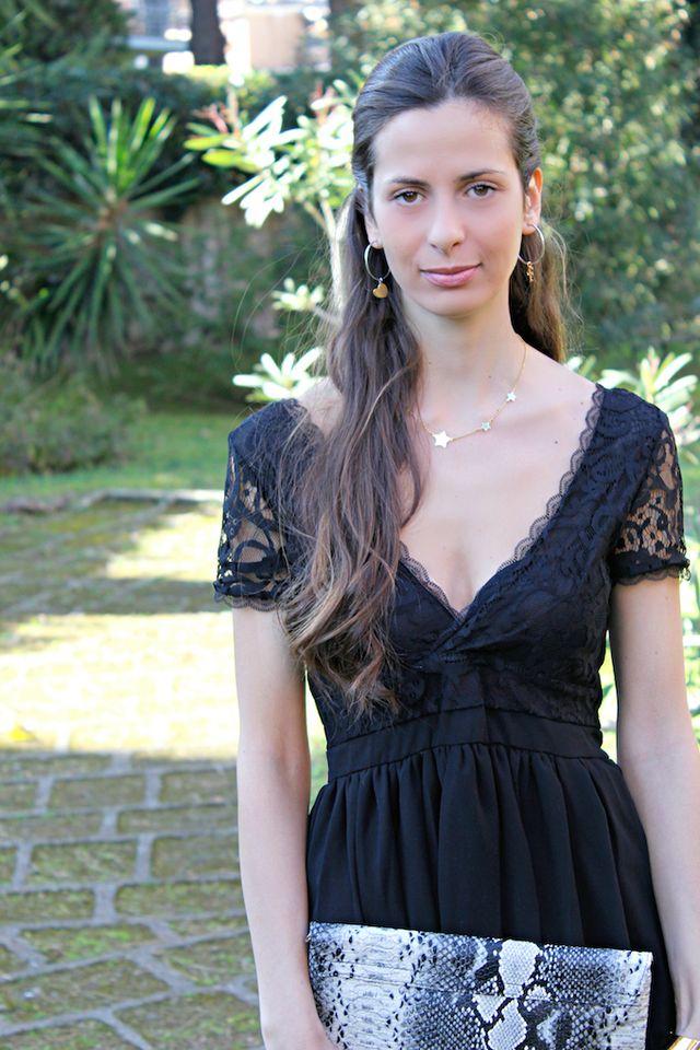 outlet store 94126 dda2a Vestitino nero in pizzo: il massimo dell'eleganza | Cosa mi ...