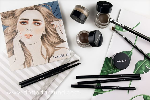 e98e06393c42 Nabla Brow pot VS Brow Divine swatch   review