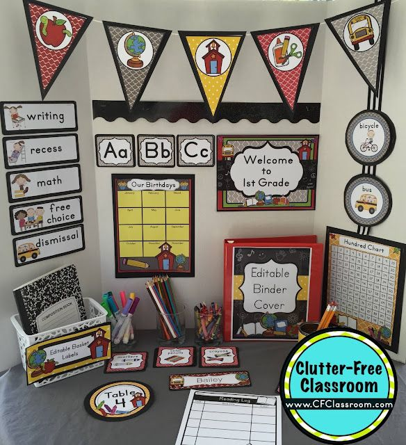 Classroom Decor Download : Chalkboard themed classroom ideas printable