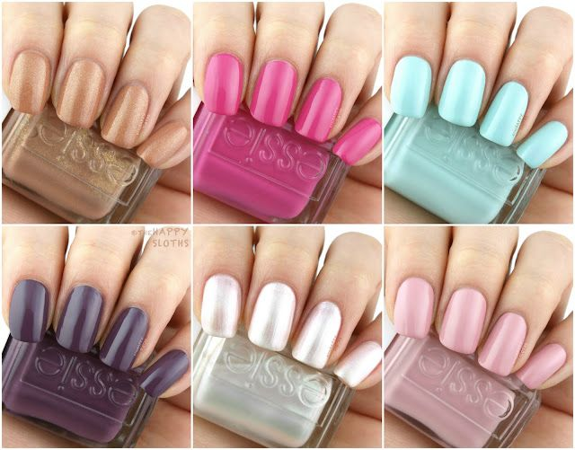 Essie | Summer 2018 Collection: Review and Swatches | The Happy ...