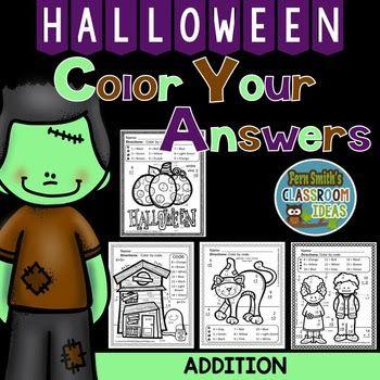 Halloween Fun Basic Addition Facts