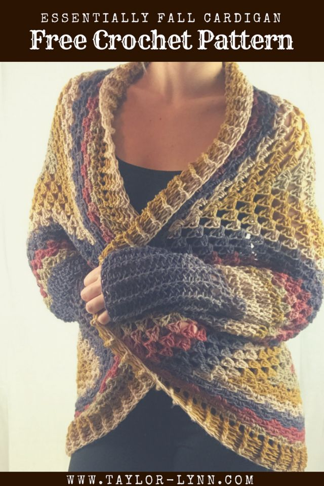 Easy Crochet Cardigan Made Out Of A Granny Square Bees And