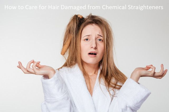 ba0590937368 How to Care for Hair Damaged from Chemical Straighteners