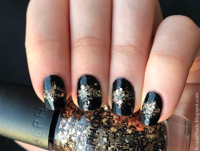 New Year\'s Eve nail art | Konad Addict | Bloglovin\'