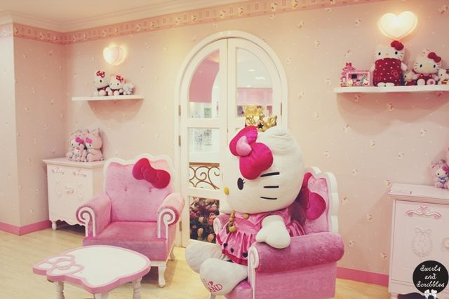 Hello Kitty Island Museum and Cafe in Jeju Island | Swirls and ...