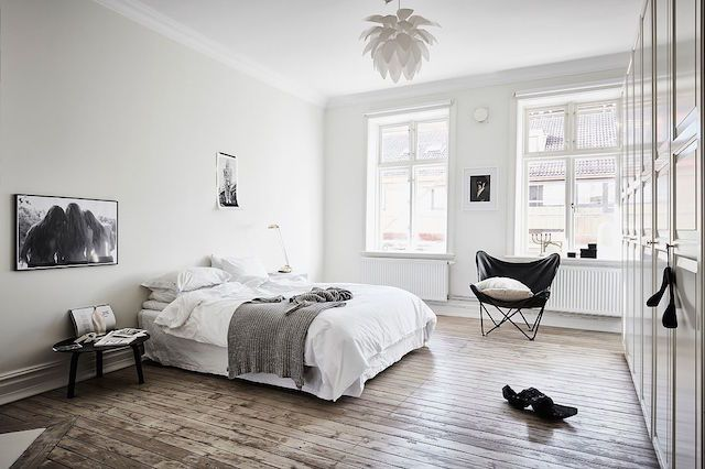 A Grey Scale Swedish Apartment With A Dreamy Bedroom My