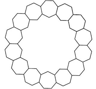 Common Worksheets shapes heptagon : Tessellations 8 ---What won't work | Barbara Brackman's MATERIAL ...