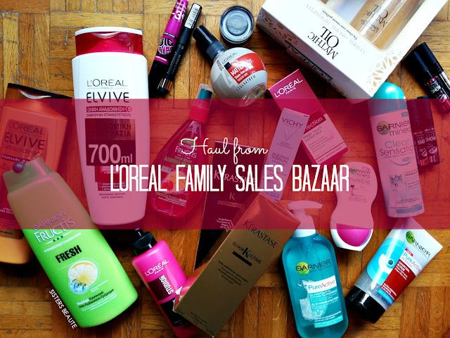 Haul from L Oreal Family Sales Bazaar  a340000e131