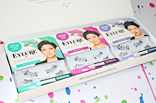 7aefa248e3c Working with Eylure, Emma has created a range of natural, stress-free  lashes that are easy to apply - perfect for mothers on the go much like  herself and to ...